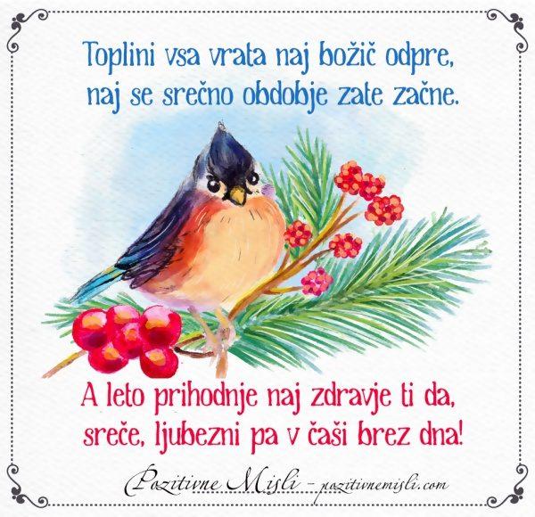 Toplini vsa vrata naj božič odpre - BOŽIČNI VERZI