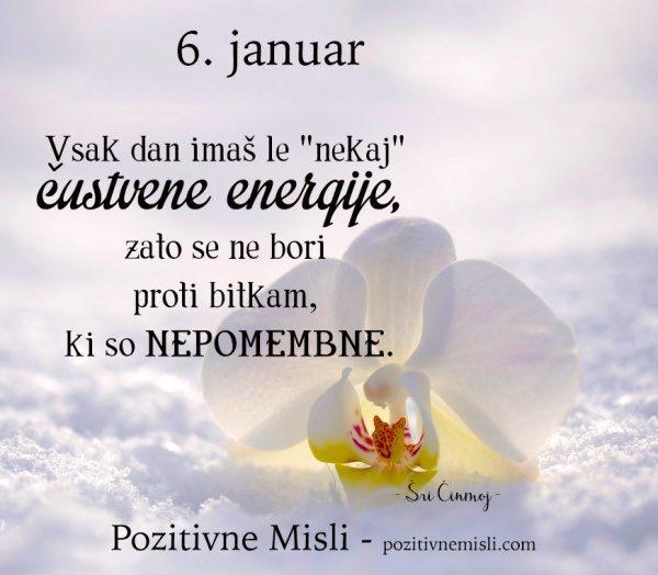 6. januar - 365 modrih misli