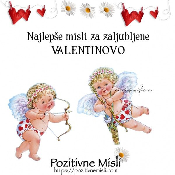 Najlepše misli za valentinovo - verzi za valentinovo
