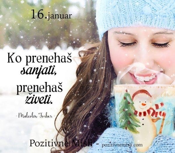 16. januar - 365 modrih misli