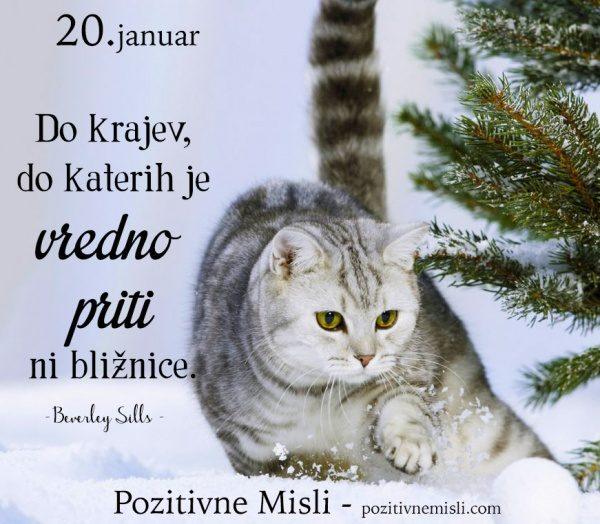 20. januar - 365 modrih misli - Do krajev