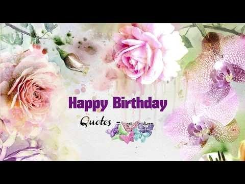 Happy Birthday - VIDEO