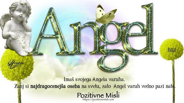 Imaš svojega angela varuha