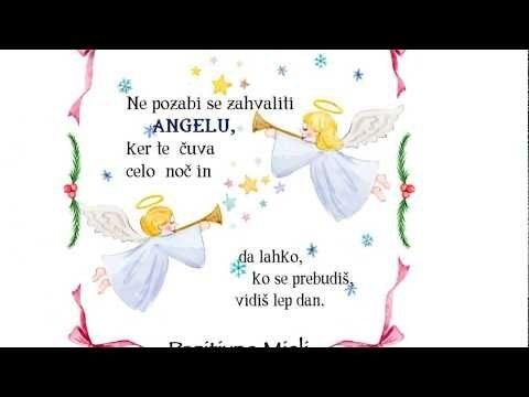 Ne pozabi se zahvaliti ANGELU