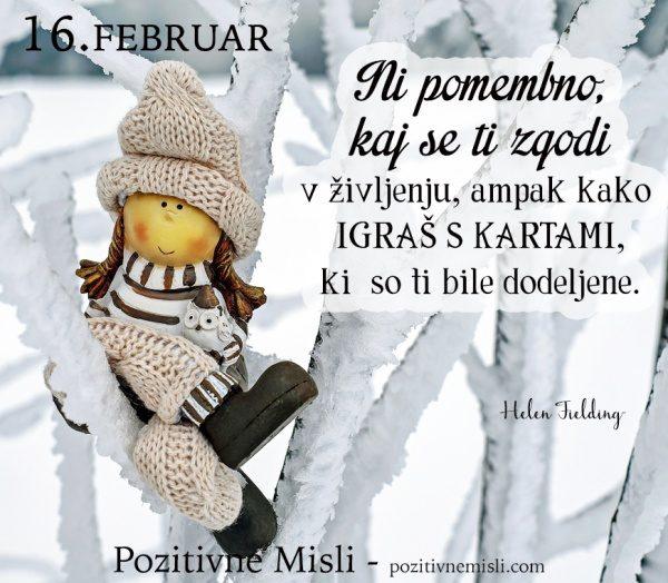 16. FEBRUAR - 365 modrih misli - Ni pomembno
