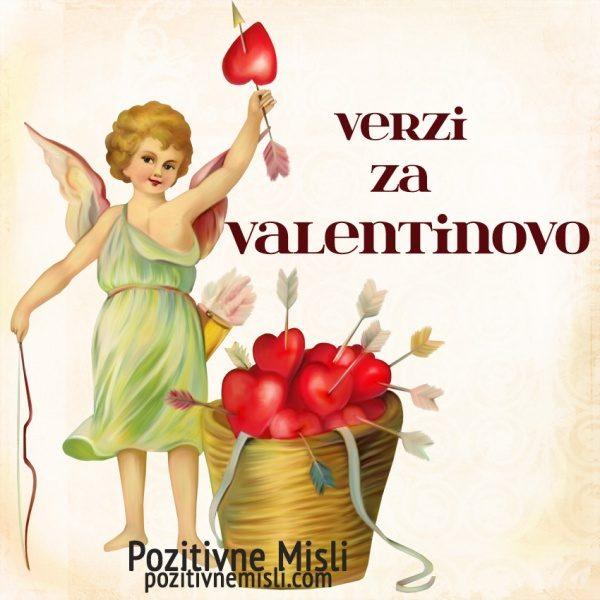 VERZI ZA VALENTINOVO - najlepši verzi in misli za valentinovo