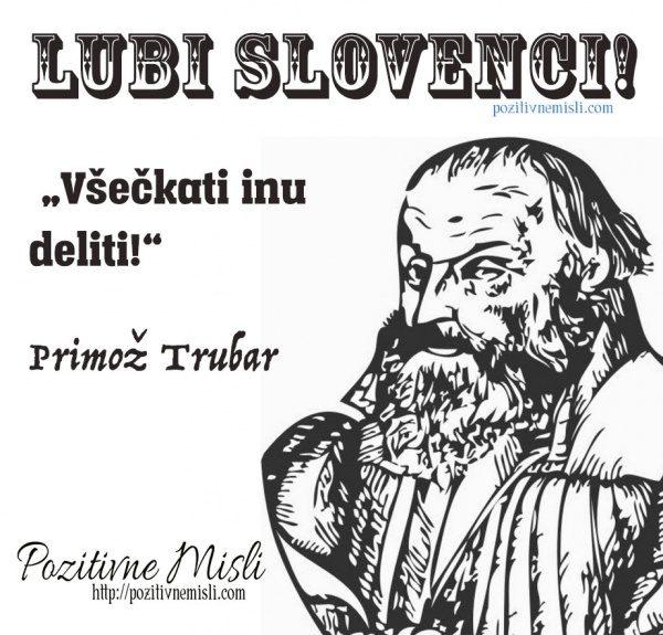Lubi Slovenci! Všečkati inu deliti!