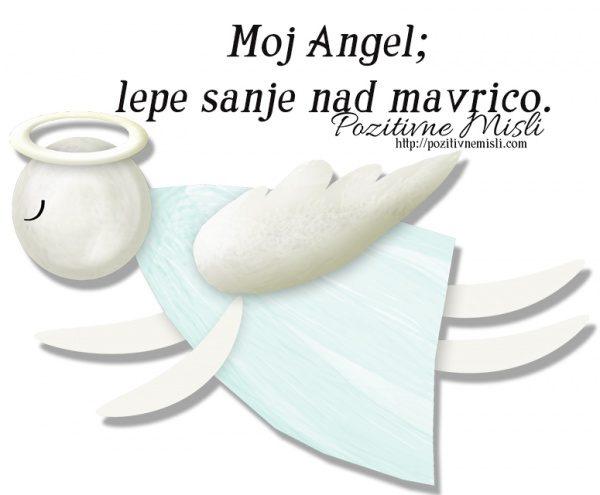 Moj Angel;  lepe sanje nad mavrico