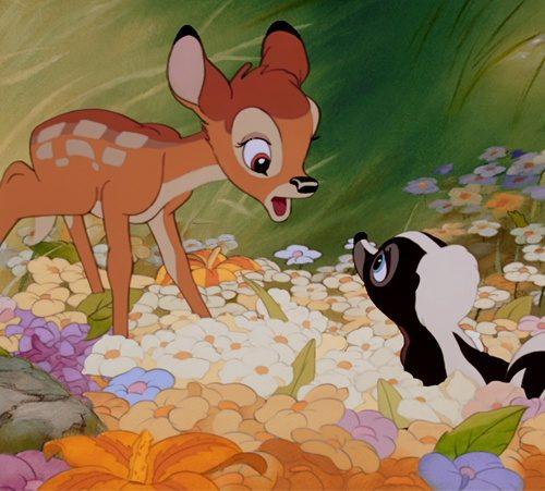 Otroška risanka - Bambi