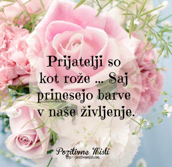 Prijatelji so kot rože ...