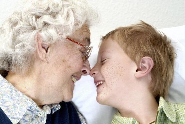Babica in vnuk