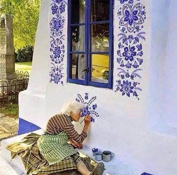 Ročna poslikava hiše