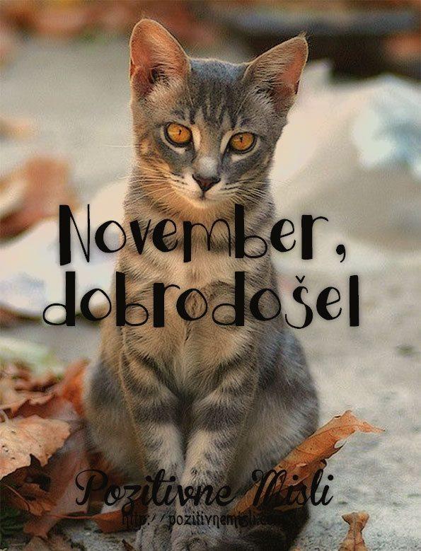 November, dobrodošel
