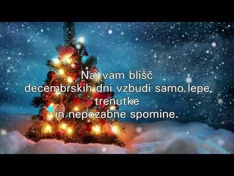 Čas božiča - srečen božič