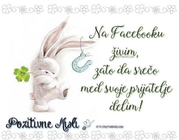 Na Facebooku živim