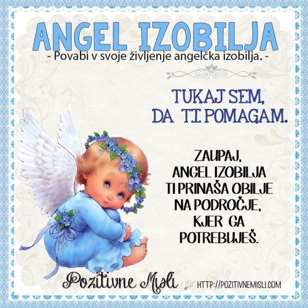 Angel izobilja - Zaupaj,  angel izobilja