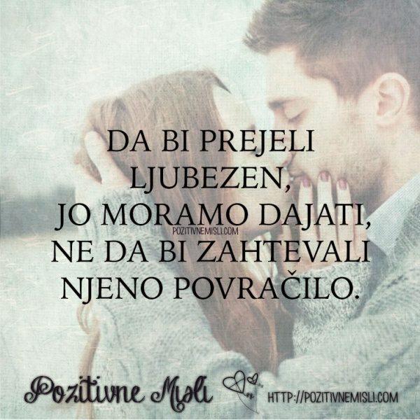 Ljubezen - Da bi prejeli ljubezen -