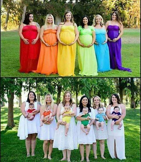 Čudovite nosečnice - čudovite mamice