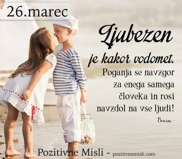 26. MAREC - Ljubezen je kakor vodomet