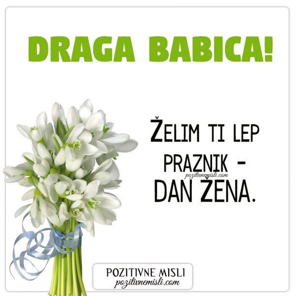BABICA - voščilo za dan žena