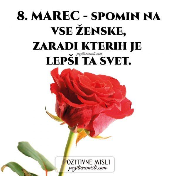 8. MAREC - spomin na vse ženske