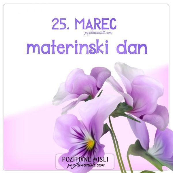MATERINSKI DAN - 25. marec