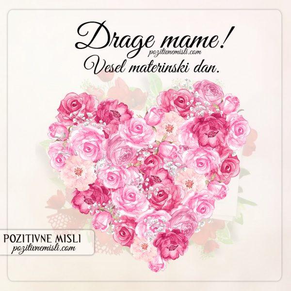Drage mame - vesel materinski dan