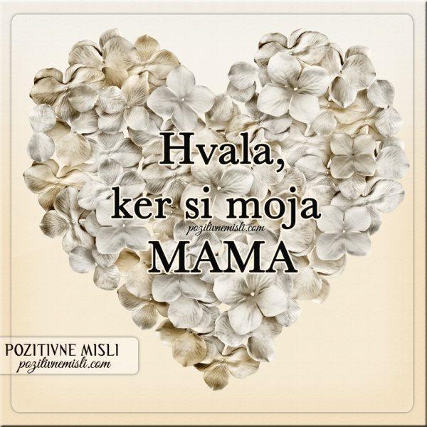 VERZI ZA materinski dan - MOJI MAMI