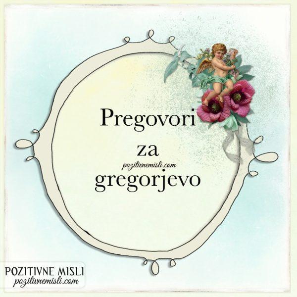 Pregovori za gregorjevo