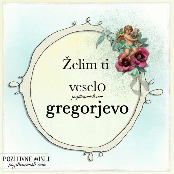 Voščila za gregorjevo