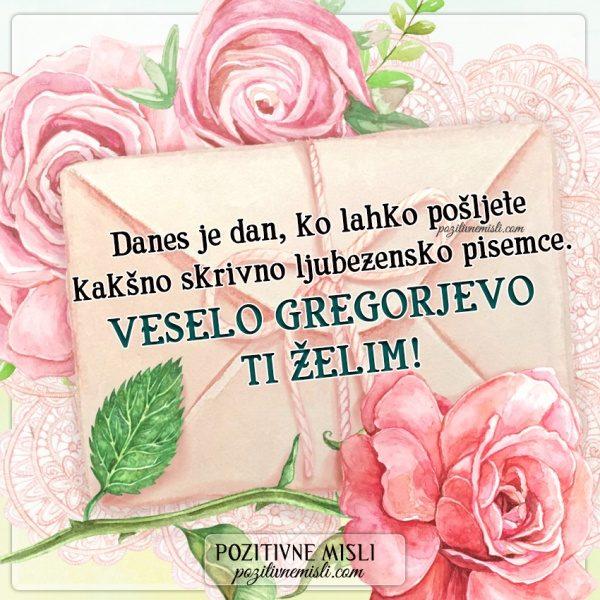GREGORJEVO -  VESELO GREGORJEVO  TI ŽELIM!