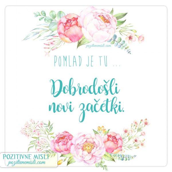 POMLAD - misli in verzi o pomladi
