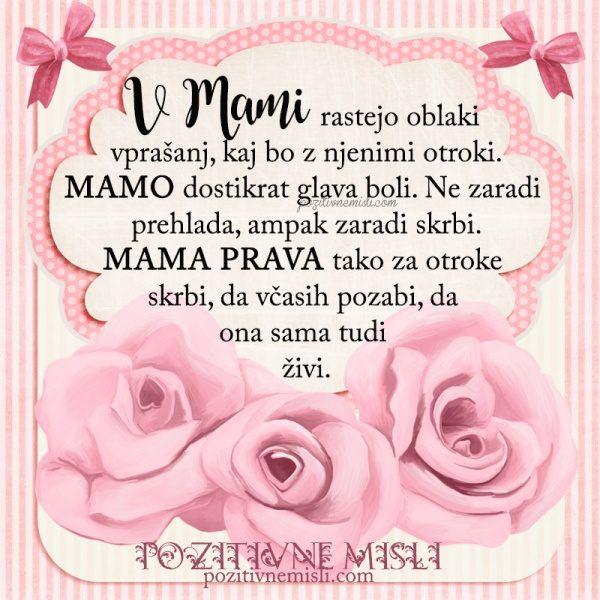 MOJI MAMI - Skrbna mama