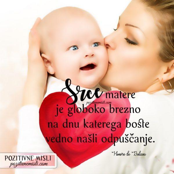 MISLI O MAMI - Srce matere