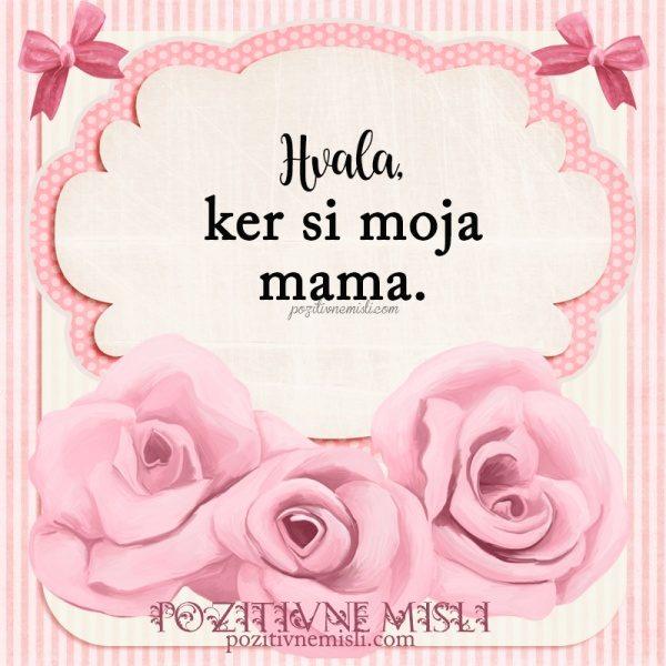 MOJI MAMI - Zahvala mami