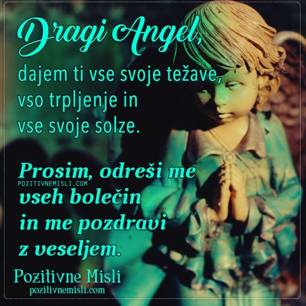 MOLITEV -  PROŠNJA ANGELOM