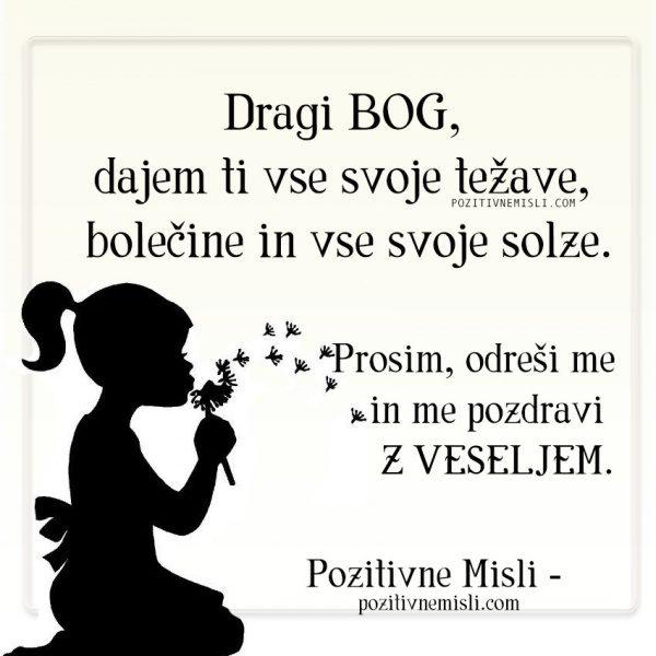 Dragi bog - MOLITEV