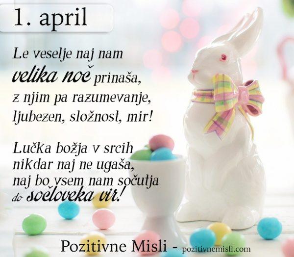 1. april - 365 modrih misli - Le veselje