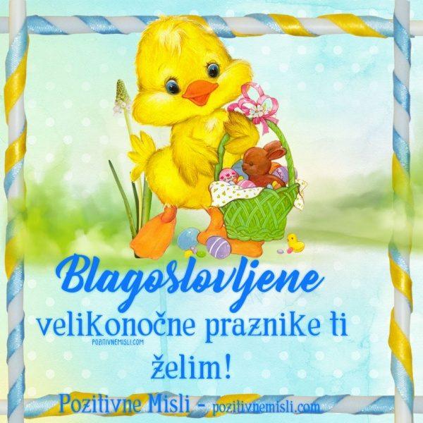Blagoslovljene velikonočne ...