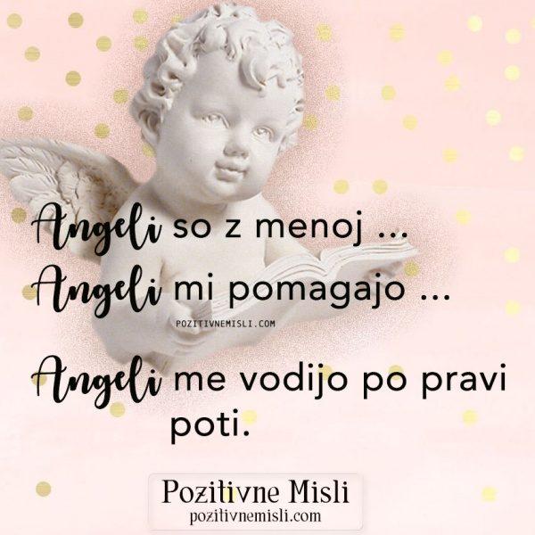 MISLI O ANGELIH ... MOLITEV