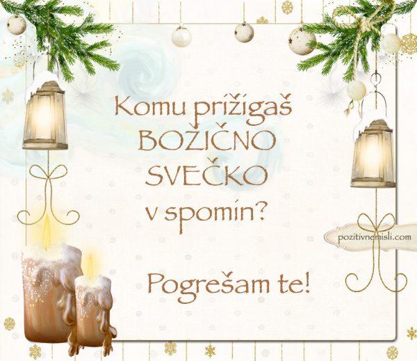 Čarobni božič - Komu prižigaš  božično