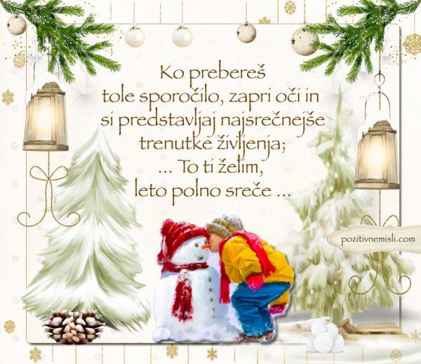 Čarobni božič - Ko prebereš tole sporočilo