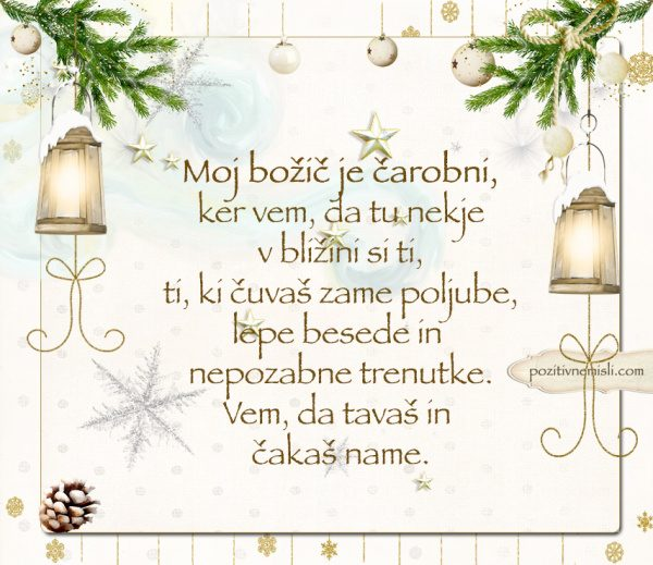 ČAROBNI BOŽIČ - Moj božič je čarobni