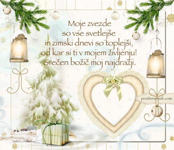 Čarobni božič ... Moje zvezde so vse svetlješe