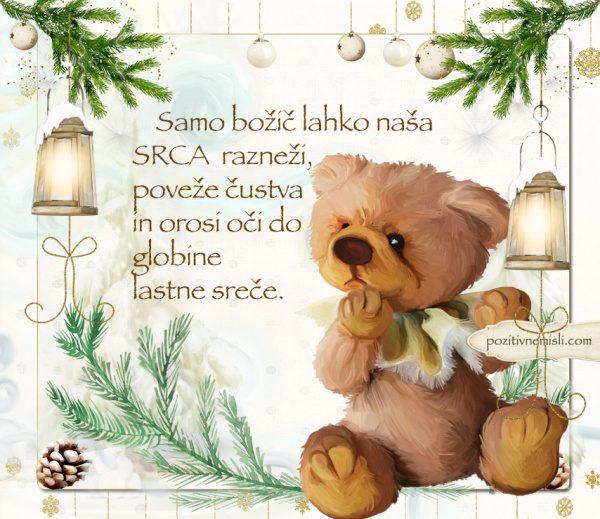 ČAROBNI BOŽIČ - Samo božič lahko naša  srca
