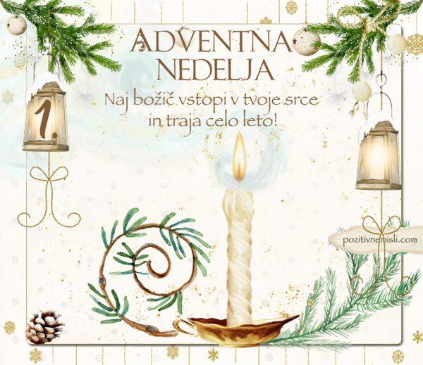 1. adventna nedelja - Čarobni božič Adventni koledar