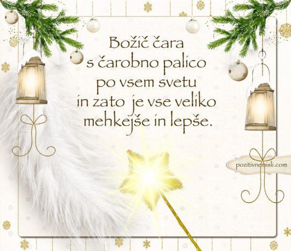 ČAROBNI BOŽIČ  -  Lep božič, dragi prijatelji