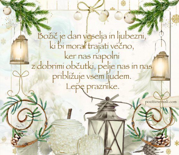 ČAROBNI BOŽIČ - Božič je dan veselja