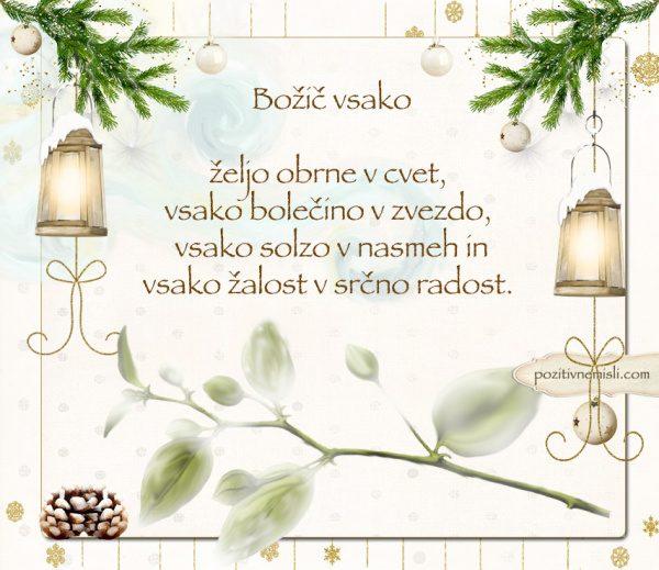 ČAROBNI BOŽIČ - Božič vsako  željo obrne v cvet