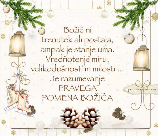 ČAROBNI BOŽIČ - Božič ni  trenutek ali postaja